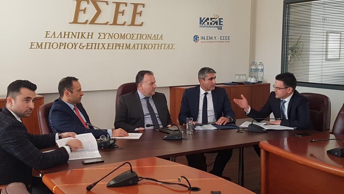 Απόλυτη δικαίωση του ΕΒΕΔ για τους δανειολήπτες της Τράπεζας Δωδεκανήσου κατά την συνάντηση με τον Ι. Στουρνάρα