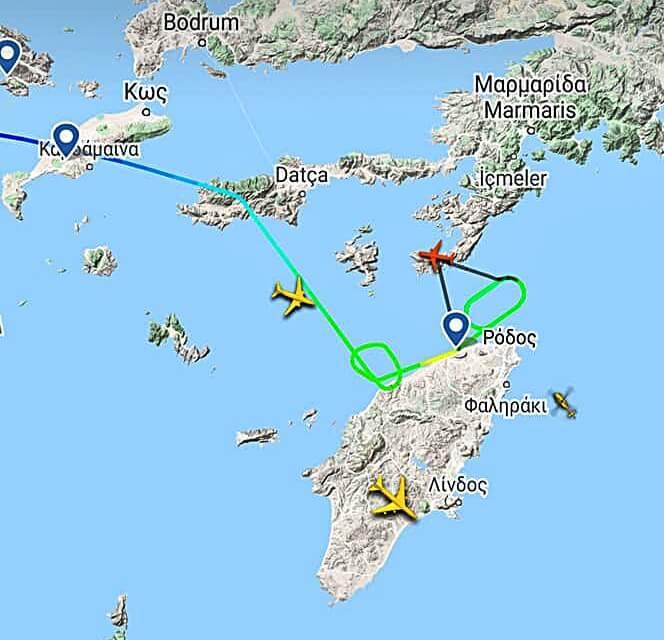 Πτήση για Ρόδο δεν κατάφερε να προσγειωθεί και επέστρεψε στην Αθήνα