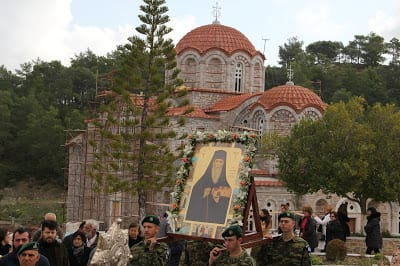 Με λαμπρότητα εορτάστηκε και φέτος στη Ρόδο η μνήμη του Οσίου Μελετίου εν Υψενή