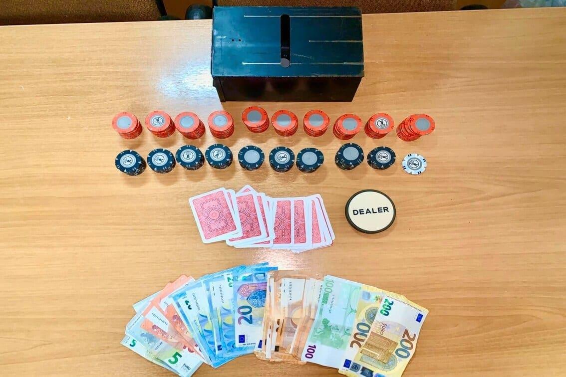 Συνελήφθησαν 10 άτομα για διενέργεια – συμμετοχή σε παράνομα τυχερά παίγνια στη Ρόδο