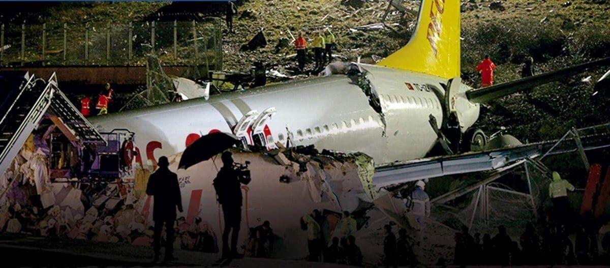 Τουρκία: Αεροπλάνο συνετρίβη σε αεροδρόμιο της Κωνσταντινούπολης – Κόπηκε στα δύο (βίντεο)