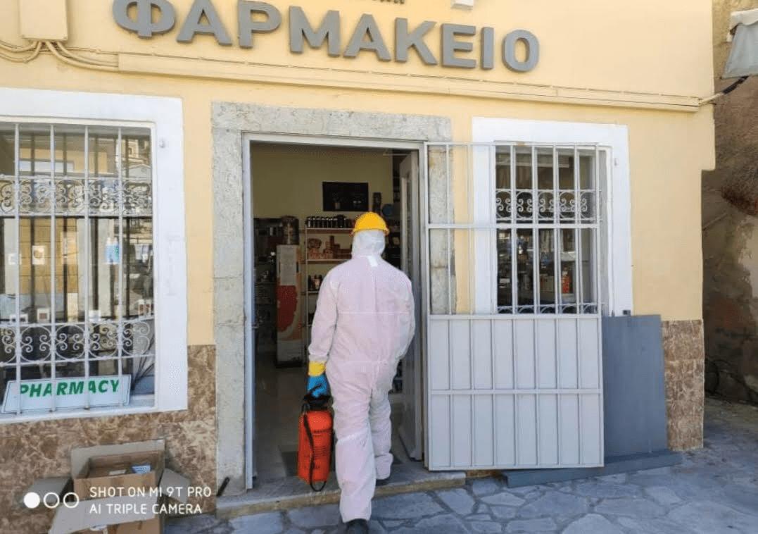 Η Σύμη απολυμαίνεται με πρωτοβουλία του Δήμου