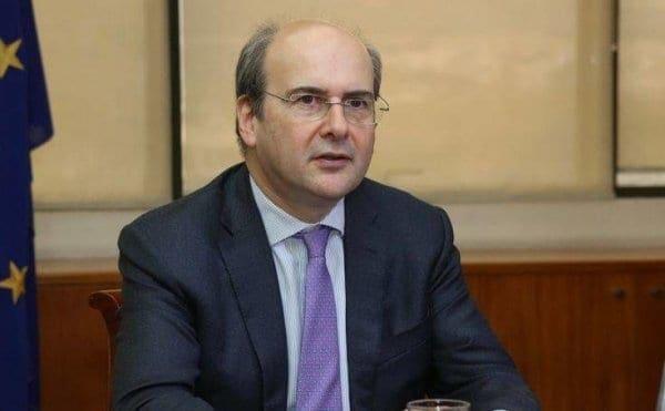 Χατζηδάκης: Οι φτωχοί δεν θα μείνουν χωρίς ρεύμα αλλά δεν θέλουμε οι πονηροί να εκμεταλλευτούν την κρίση