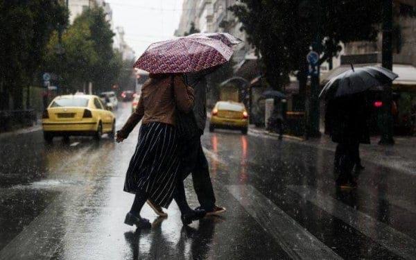 Καιρός: Βροχές και καταιγίδες αύριο Πέμπτη και στα Δωδεκάνησα