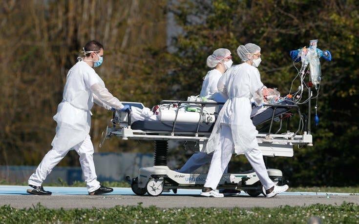 Κορονοϊός: Δραματική αύξηση των νεκρών στη Γαλλία – Ξεπέρασε το όριο των 3.000 θανάτων