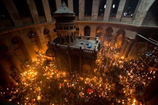 Κλείνει ο Πανάγιος Τάφος στα Ιεροσόλυμα για πρώτη φορά μετά την πανδημία της πανούκλας