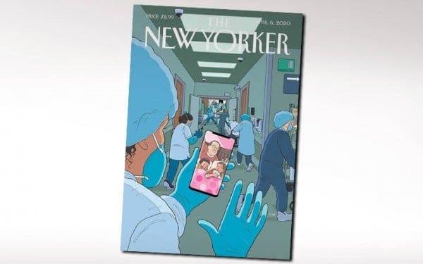 Εξώφυλλο-γροθιά στο στομάχι από το «Τhe New Yorker» για τον κορονοϊό