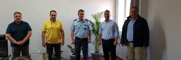Κοινή επίσκεψη Συνδικαλιστικών Ενώσεων  Αστυνομικών στον Αστυνομικό Διευθυντή Ν.Αιγαίου
