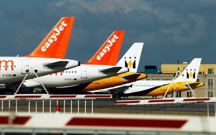 Η easyJet καταργεί 4.500 θέσεις εργασίας λόγω κατάρρευσης των ταξιδιών