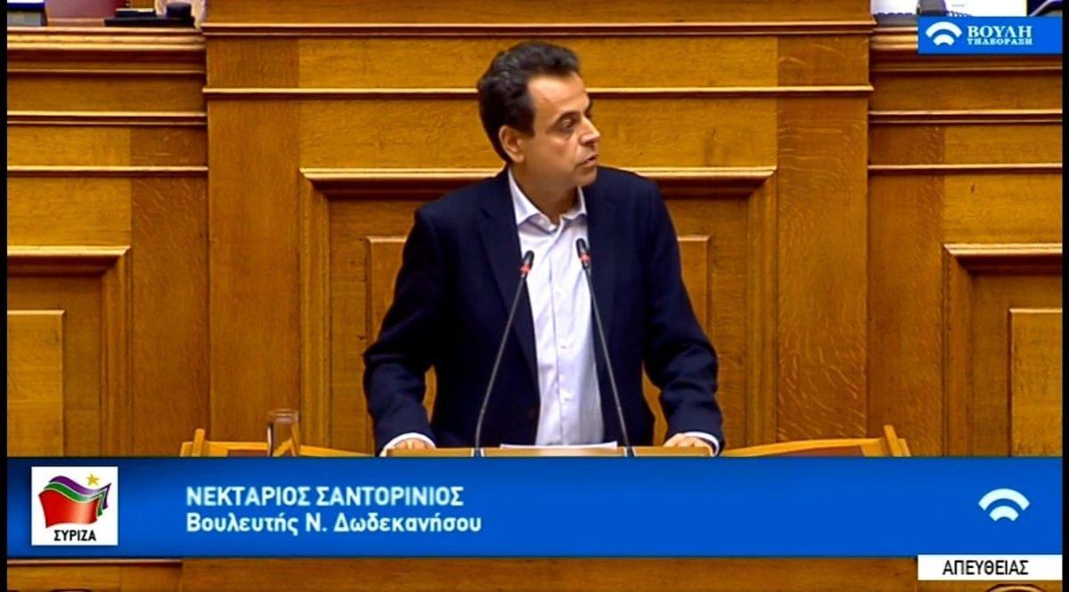 """""""Η Κυβέρνηση τώρα πρέπει να απαντήσει σοβαρά στις προτάσεις του ΣΥΡΙΖΑ οι οποίες βασίζονται στις πραγματικές ανάγκες της μικρομεσαίας επιχειρηματικότητας και της εργασίας"""""""
