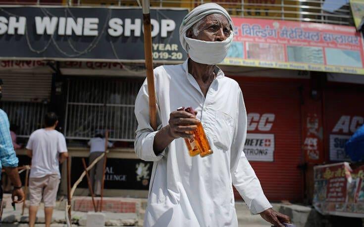 Ρεκόρ με 8.392 κρούσματα σε 24 ώρες η Ινδία – Ξεπέρασε την Γαλλία στη λίστα