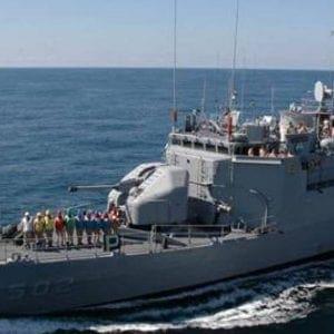 Βίντεο: Τουρκικό πολεμικό πλοίο εισήλθε στα ελληνικά χωρικά ύδατα στην Ψέριμο