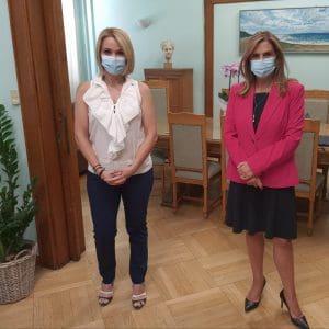 Για την ενίσχυση των δομών ψυχικής υγείας στα Δωδεκάνησα συναντήθηκε η Μ.Ιατρίδη με την Υφυπουργό Υγείας, Ζωή Ράπτη