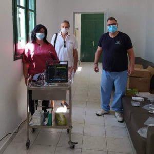 Το Ίδρυμα Λοχαγού Φανουράκη δώρισε ιατρικό εξοπλισμό στο Πολυδύναμο Ιατρείο Χάλκης