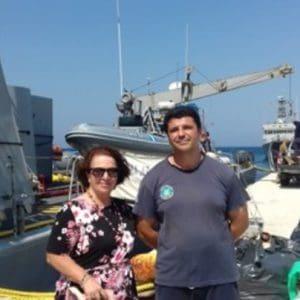 Δώρα στα πληρώματα των τριών σκαφών του Πολεμικού Ναυτικού και του Λιμενικού Σώματος