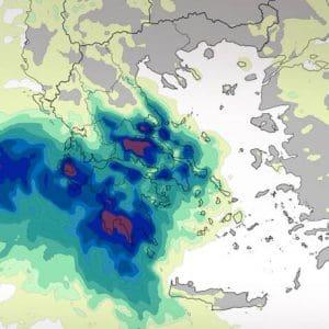 Μεσογειακός κυκλώνας Ιανός: Πού βρίσκεται τώρα και πώς θα κινηθεί η κακοκαιρία – Οι περιοχές που θα χτυπήσει