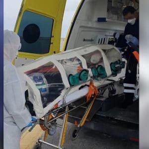23χρονη απο τη Ρόδο με covid-19 μεταφέρθηκε στην Κρήτη