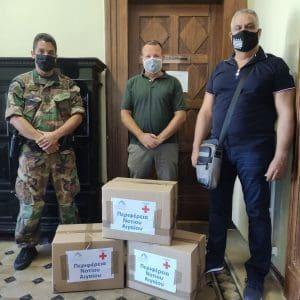 Νέο φορτίο ειδών ατομικής προστασίας και υγιεινής από την Περιφέρεια προς το Λιμενικό Σώμα
