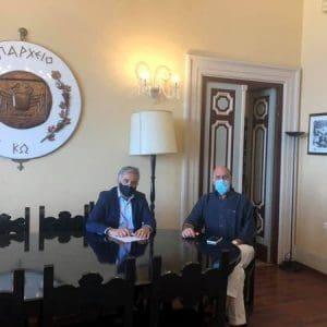Ολοκληρώθηκε η τριημερη επίσκεψη του Βουλευτή Δωδεκανήσου Βασίλη Α. Υψηλάντη στο νησι της Κω