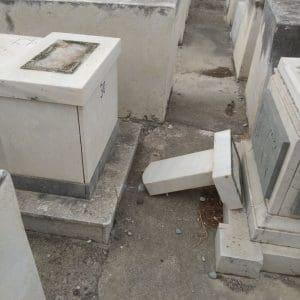 Βανδαλίστηκαν 4 Εβραϊκοί τάφοι στη Ρόδο