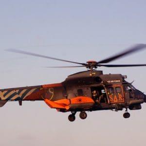 Δυο ασθενείς απο Κάλυμνο και Πάτμο στη Ρόδο με ελικόπτερο