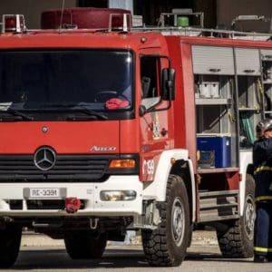 Εκδήλωση πυρκαγιάς σε μηχανοκίνητο σκάφος στη Ρόδο