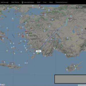Οι Τούρκοι με νέο αεροπλάνο έψαχναν να βρουν Ελληνικά υποβρύχια έξω απο τη Ρόδο