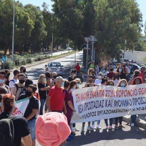 Ο χαιρετισμός του Συλλόγου Εργαζομένων ΓΝΡ στην σημερινή απεργία