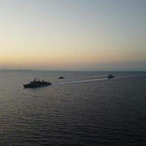 Σε αυξημένη επιφυλακή ο στόλος της Ελλάδας  (φωτογραφίες)