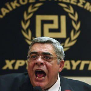 Δίκη Χρυσής Αυγής: 13 χρόνια στον Μιχαλολιάκο και σε 5 ηγετικά στελέχη της εγκληματικής οργάνωσης
